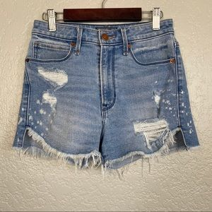 Abercrombie & Fitch High Rise Stretchy Shorts